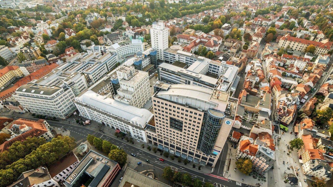 Ernst-Abbe-Platz in Jena