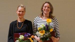 Juliane Witter und Manuela Zeugner gewinnen die Lehrpreise für den akademischen Mittelbau